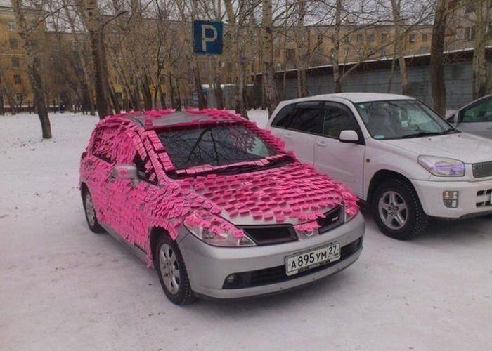 Подарок в машину парню